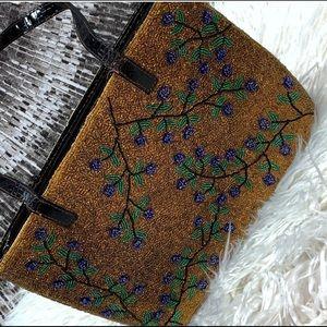 Vintage beaded Fendi Bag